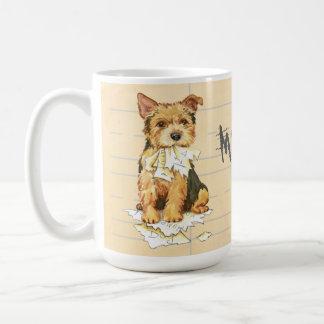 My Norwich Terrier Ate my Homework Coffee Mug