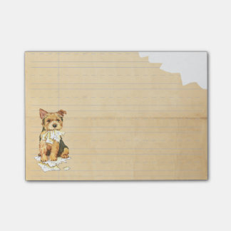 My Norwich Terrier Ate My Homework Post-It Note