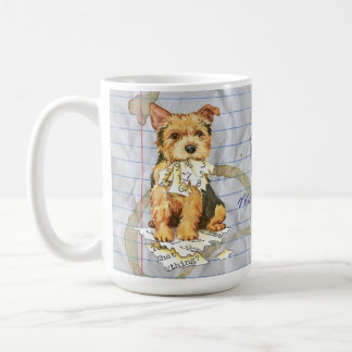 My Norwich Terrier Ate my Lesson Plan Coffee Mug