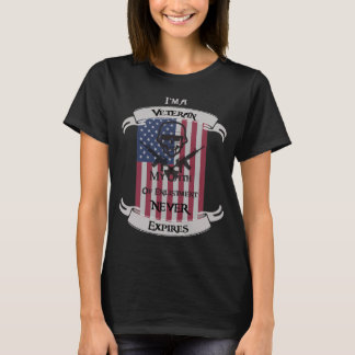 My Oath of Enlistment Never Expires T-Shirt