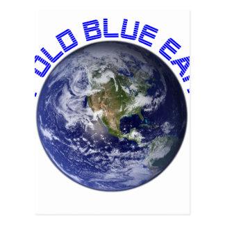 MY OLD BLUE EARTH POSTCARD