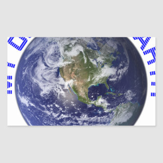 MY OLD BLUE EARTH STICKER