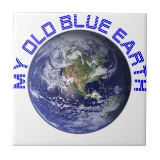 MY OLD BLUE EARTH TILE