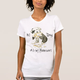 My Old English Sheepdog Ate My Homework T-Shirt