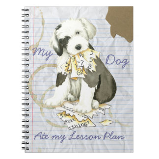 My Old English Sheepdog Ate my Lesson Plan Notebooks