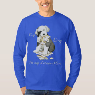 My Old English Sheepdog Ate my Lesson Plan T-Shirt