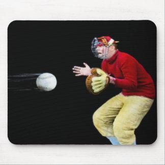My Old Man Is Baseball Mad Magic Lantern Slide Mouse Pad