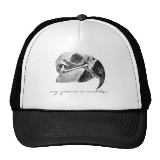 """my opinion IS to another "" Trucker Hat"