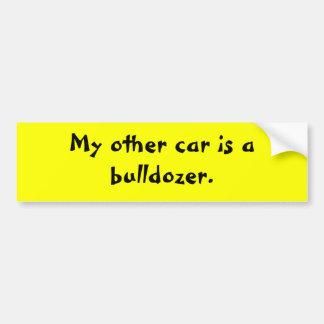 my-other-car-12 bumper sticker