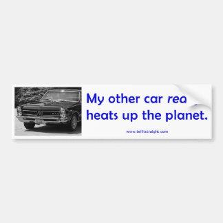 My Other Car (65 GTO) Bumper Sticker