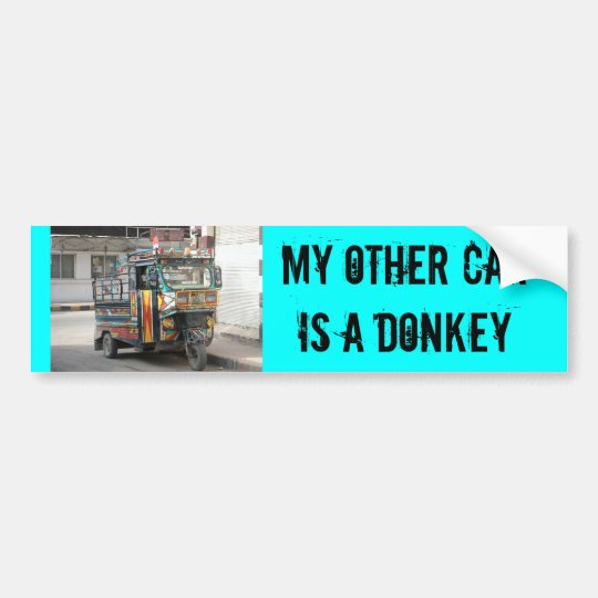 MY OTHER CAR... BUMPER STICKER