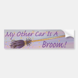 My Other Car Is A Broom 3 - Bumber Sticker