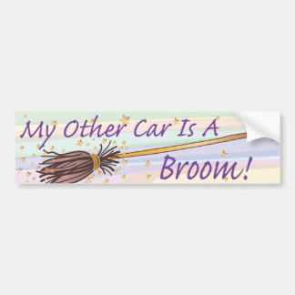 My Other Car Is A Broom - Bumber Sticker Bumper Sticker