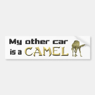 My Other Car is a Camel Bumper Sticker