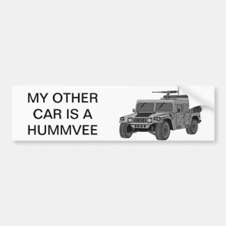 My Other Car is a HUMMVEE Bumper Sticker