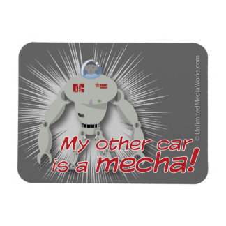 My other car is a Mecha! Magnet
