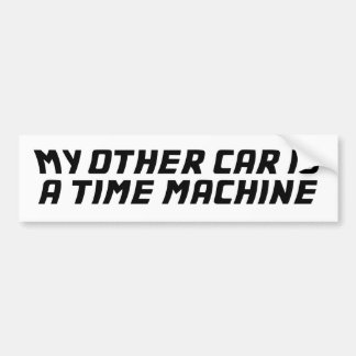 My Other Car Is A Time Machine Bumper Sticker