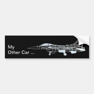 My other car is an F-16 Bumper Sticker