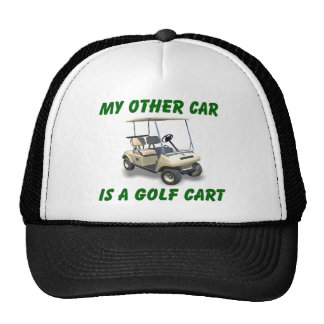 My other car trucker hat