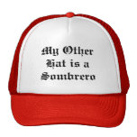 My Other Hat is a Sombrero