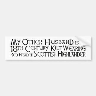 My Other Husband - Highlander Bumper Sticker