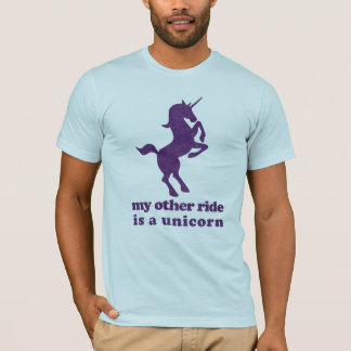 My Other Ride Is A Unicorn Funny T-Shirt