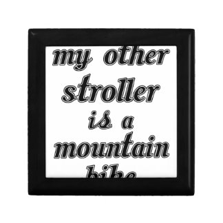 My Other Stroller Is A Mountain Bike Gift Box