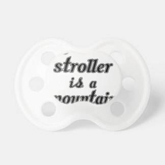 My Other Stroller Is A Mountain Bike Pacifier