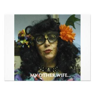 MY OTHER WIFE CUSTOM INVITATIONS