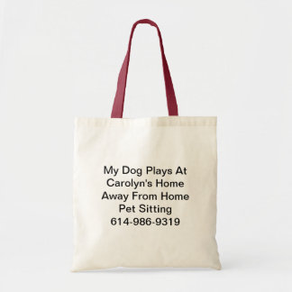 My overnight bag