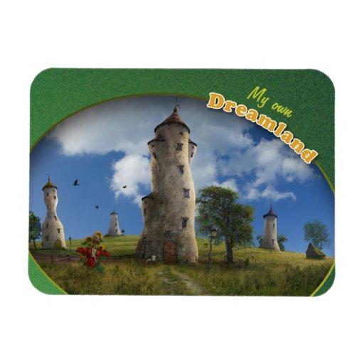 My own Dreamland - Premium Magnet