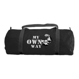 My Own Way Duffle Gym Bag