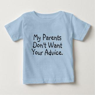 My Parents Don't Want Your Advice - Infant Shirt