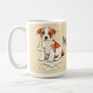 My Parson Russell Terrier Ate My Homework Coffee Mug