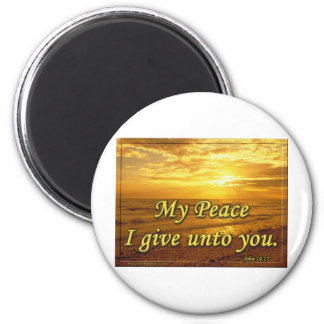 My Peace I Give You. Magnet