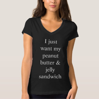 My Peanut Butter & Jelly Sandwich V-Neck T-Shirt