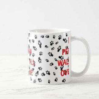my persian walks on me coffee mug