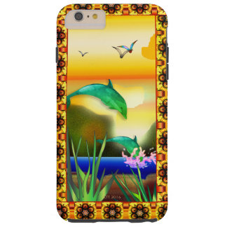 My Personal Oasis Smartphone Tough iPhone 6 Plus Case