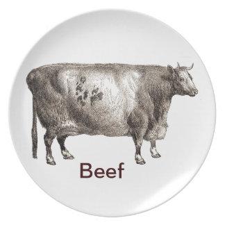 My Pet Bovine (Bull or Cow) Plates