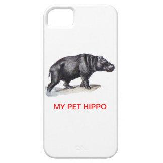 MY PET HIPPO iPhone 5 CASE