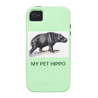 MY PET HIPPO VIBE iPhone 4 COVERS