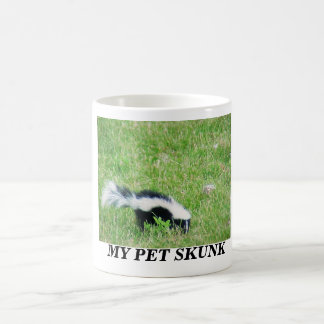 MY PET SKUNK COFFEE MUG