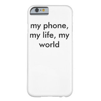 my phone barely there iPhone 6 case
