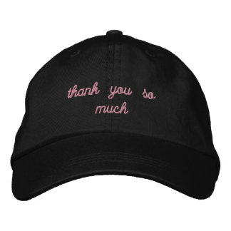 my pleasure embroidered hat
