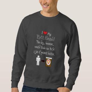 My Plott Hound Loves Peanut Butter Sweatshirt