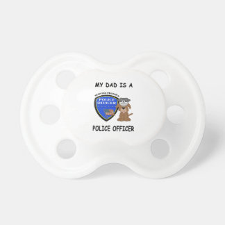My Police Dad Baby Pacifier