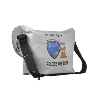My Police Dad Messenger Bag