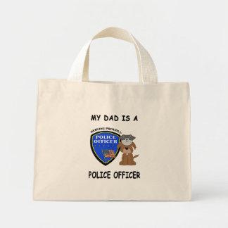 My Police Dad Mini Tote Bag