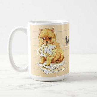 My Pomeranian Ate my Homework Coffee Mug