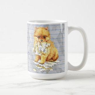 My Pomeranian Ate my Lesson Plan Coffee Mug